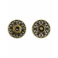 Прочие КНД-7-1-18639.001 Кнопки д.2,5 см (металл) бронзовый