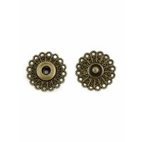 Прочие КНД-9-3-18637.003 Кнопки д.2,1 см (металл) бронзовый