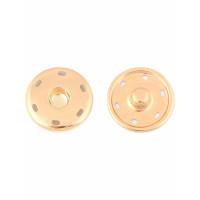 Прочие КНП-37-1-30429 Кнопки  д.3 см (металл) золотистый