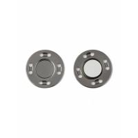 Прочие КНП-87-1-34536.002 Кнопки на магните д.2 см (металл) темный никель