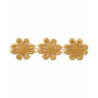 Прочие КП-19-31-1858.024 Кружево плетеное ш.2,5 см желтый 100 см