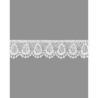 Прочие КП-195-1-18428.001 Кружево плетеное ш.2 см белый 100 см