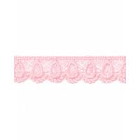 КП-195-18-18428.017 Кружево плетеное ш.2 см розовый 100 см