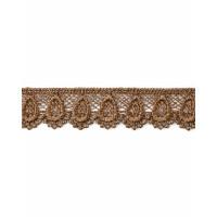 КП-195-25-18428.025 Кружево плетеное ш.2 см коричневый