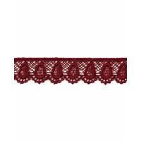 Прочие КП-195-28-18428.032 Кружево плетеное ш.2 см бордовый 100 см