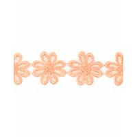 Прочие КП-215-14-30112.027 Кружево плетеное ш.2,5 см персиковый 100 см