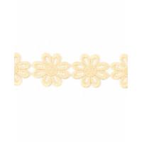 Прочие КП-215-20-30112.020 Кружево плетеное ш.2,5 см молочный 100 см