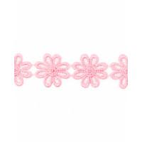 Прочие КП-215-23-30112.014 Кружево плетеное ш.2,5 см розовый 100 см