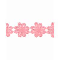 Прочие КП-215-29-30112.029 Кружево плетеное ш.2,5 см розовый 100 см