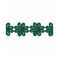 Прочие КП-215-33-30112.031 Кружево плетеное ш.2,5 см зеленый 100 см
