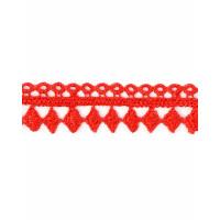 КП-222-3-30955.003 Кружево плетеное ш.2 см красный 100 см