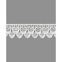 Прочие КП-259-2-33065.002 Кружево плетеное ш.2,5 см белый 100 см