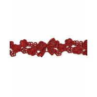 Прочие КП-286-1-34365.001 Кружево плетеное ш.2 см бордовый 100 см
