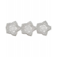 Прочие КРО-53-1-5901.002 Кружево декоративное ш.5 см серебристый 100см