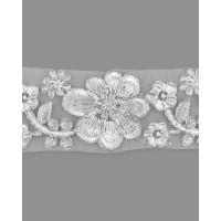 КРО-81-5-15745.002 Кружево декоративное ш.4,5 см белый 100 см