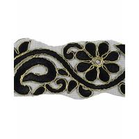 Прочие КРО-83-2-15746.003 Кружево декоративное ш.5,5 см черный 100 см