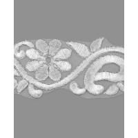 КРО-83-4-15746.002 Кружево декоративное ш.5,5 см белый 100 см