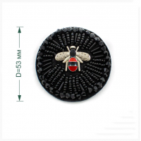 Прочие LA01 Украшение текстильное LA01  d53  мм