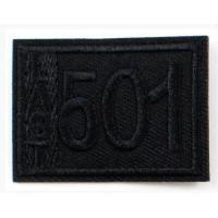Прочие LA399 Термоаппликация LA399  47 х 34 мм (Blk)