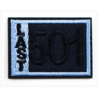 Прочие LA399 Термоаппликация LA399  47 х 34 мм (Blue)