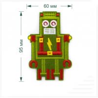 Прочие LA485 Термоаппликация LA485 Green 60 х 95  мм