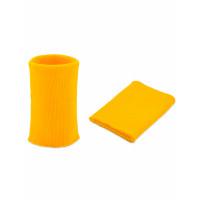 Прочие МАН-9-62-9223.063 Манжеты трикотажные р.7,5x10 см желтый , пара
