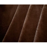 Прочие Мех т.коричневый Мех М-1109 коротковорсовый 5мм,  50*50см, 100% п/э,  цв.т. коричневый