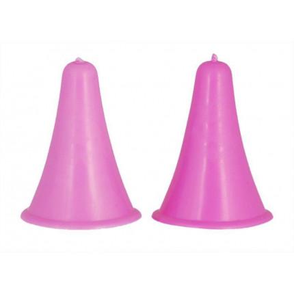 10815 Knit Pro Наконечники для спиц 4,5-10мм, пластик, розовый, уп. 2шт (арт. МГ-19152-1-МГ0179425)