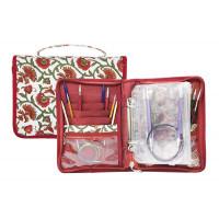 "KnitPro МГ-40418-1-МГ0371625 12002 Knit Pro Органайзер ""Aspire"" 16х21,5см (в закрытом виде) 33х21,5см (в открытом виде) ткань"