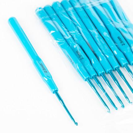 Крючок алюминиевый Maxwell Colors с пластиковой ручкой Ø 2.5мм (арт. МГ-44772-1-МГ0545428)