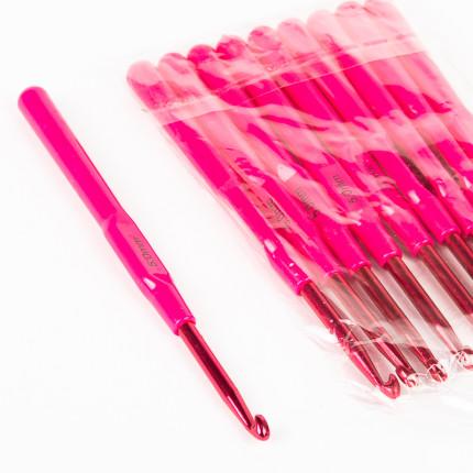 Крючок алюминиевый Maxwell Colors с пластиковой ручкой д.5мм (арт. МГ-44777-1-МГ0545433)