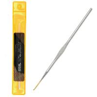 Maxwell МГ-50400-1-МГ0615550 Крючок для вязания Maxwell Gold односторонний с золотой головкой никель 0,9мм, 12см