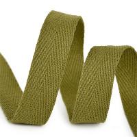 Прочие МГ-64404-1-МГ0719768 Тесьма киперная 10 мм хлопок 2,5г/см цв.F264 зеленый  зеленый 1 м
