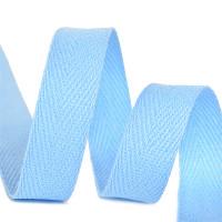 Прочие МГ-64414-1-МГ0719781 Тесьма киперная 10 мм хлопок 2,5г/см цв.S351 голубой  голубой 1 м