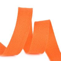 Прочие МГ-64421-1-МГ0719793 Тесьма киперная 10 мм хлопок 2,5г/см цв.F157 оранжевый  оранжевый 1 м