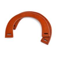 Прочие МГ-66905-1-МГ0739975 Ручка для сумки, дерево, 25см, цв.св.коричневый, уп.2шт цветные