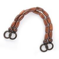 Прочие МГ-82018-1-МГ0761114 Ручка для сумки дерево 27368 50см цв.коричневый уп.2шт коричневый
