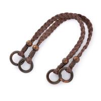 Прочие МГ-82023-1-МГ0761119 Ручка для сумки шнур вощеный/дерево 27372 48см цв.коричневый уп.2шт коричневый