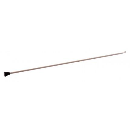 Крючок для вязания афганский Knit Pro 30820 Basix Aluminum 2мм/30см, алюминий, серый (арт. МГ-82163-1-МГ0761504)