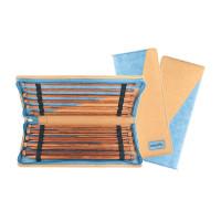 KnitPro Ginger МГ-82286-1-МГ0761782 Набор прямых Knit Pro 31285 35см Ginger  11 компллектов спиц