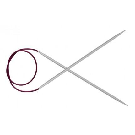 45351 Knit Pro Спицы круговые Basix Aluminum 2мм/120см, алюминий, серебристый (арт. МГ-82427-1-МГ0762047)