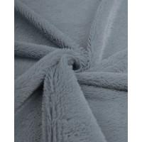 Прочие  Мех искусственный под шиншиллу серый 350 гр/м.пог 50см*50см