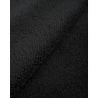 Прочие  Мех искусственный черный 255 гр/м.пог 50см*50см
