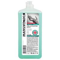 MANUFACTOR N30816 Антисептик кожный дезинфицирующий спиртосодержащий (66%) 1 л MANUFACTOR, гель, флип-топ, N30816