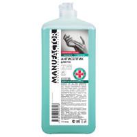 MANUFACTOR N30907 Антисептик кожный дезинфицирующий спиртосодержащий (66%) 1 л MANUFACTOR, флип-топ, готовый раствор, N30907