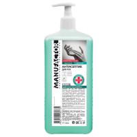 MANUFACTOR N30908 Антисептик кожный дезинфицирующий спиртосодержащий (66%) с дозатором 1 л MANUFACTOR, готовый раствор, N30908