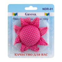 """Гамма NDR-01 """"Gamma"""" NDR-01 Подушечка для игл на руку 9 см """"цветок"""""""