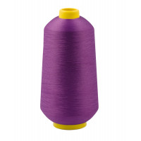 Прочие НТ-19-1-31335.025 Нитки текстурированные не крученые д.150D/1 №198 фиолетовый