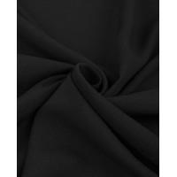 Прочие ОШТ-5-12-6014.001 Штапель-поплин однотонный черный