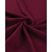 Прочие ОШТ-5-35-6014.016 Штапель-поплин однотонный бордовый